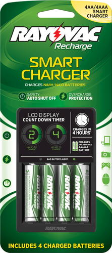 Rayovac Smart Charger NiMH